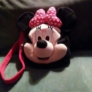 Girl's Minnie Mouse purse